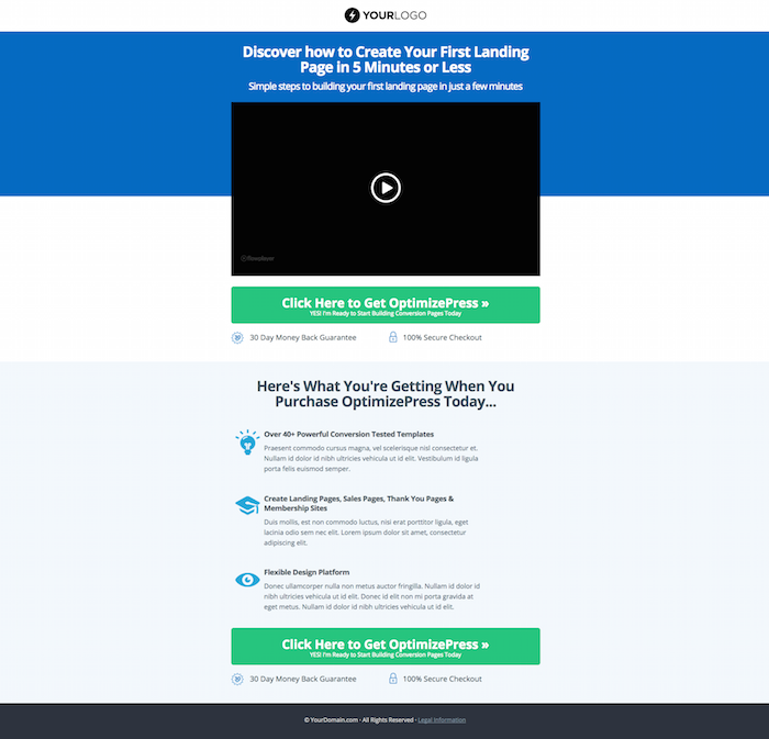 Sales Page Template | Index Of Wp Content Uploads 2015 06